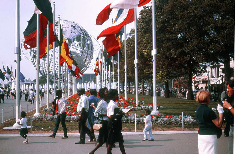 Ken Deitcher submitted this photo from the New York World's Fair in Flushing. The fair opened 50 yea