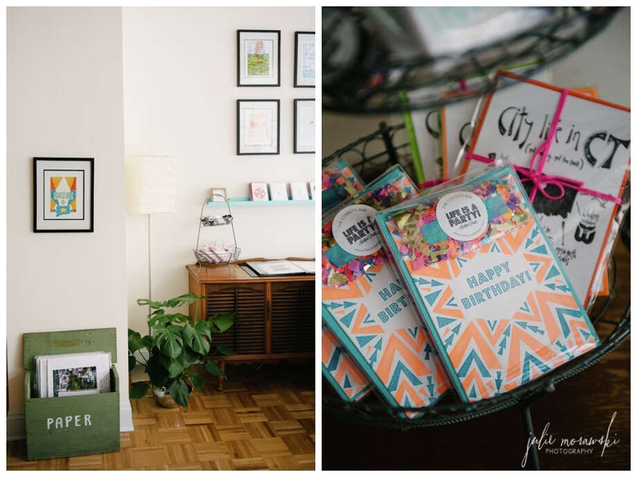 Hartford Prints will be among the vendors at Park City Pop Up!, an event spotlighting Connecticut crafters at B:Hive Bridgeport on Saturday, April 19. Photo: Contributed Photo / Connecticut Post Contributed