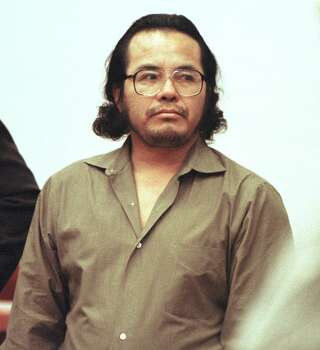 """Angel Maturino Resendiz Executed: June 27, 2006 Age: 45 Incident age: 38 Incident date: Dec. 17, 1998 County: Harris TDCJ arrival: May 24, 2000 Offense: According to ClarkProsecutor.org,  Resendiz raped, stabbed and beat Dr. Claudia Benton to death in her Houston home while she slept. Resendiz, known as """"The Railroad Killer,"""" was linked to 14 other murders across the U.S., including seven others in Texas. Last statement (from ClarkProsecutor.org): """"I want to ask if it is in your heart to forgive me. You don't have to. I know I allowed the devil to rule my life. I just ask you to forgive me and ask the Lord to forgive me for allowing the devil to deceive me. I thank God for having patience with me. I don't deserve to cause you pain. You did not deserve this. I deserve what I am getting."""" Before drawing his final breath, the killer, who claimed to be Jewish, prayed in Hebrew and Spanish. Photo: BUSTER DEAN, Associated Press / POOL HOUSTON CHRONICLE"""