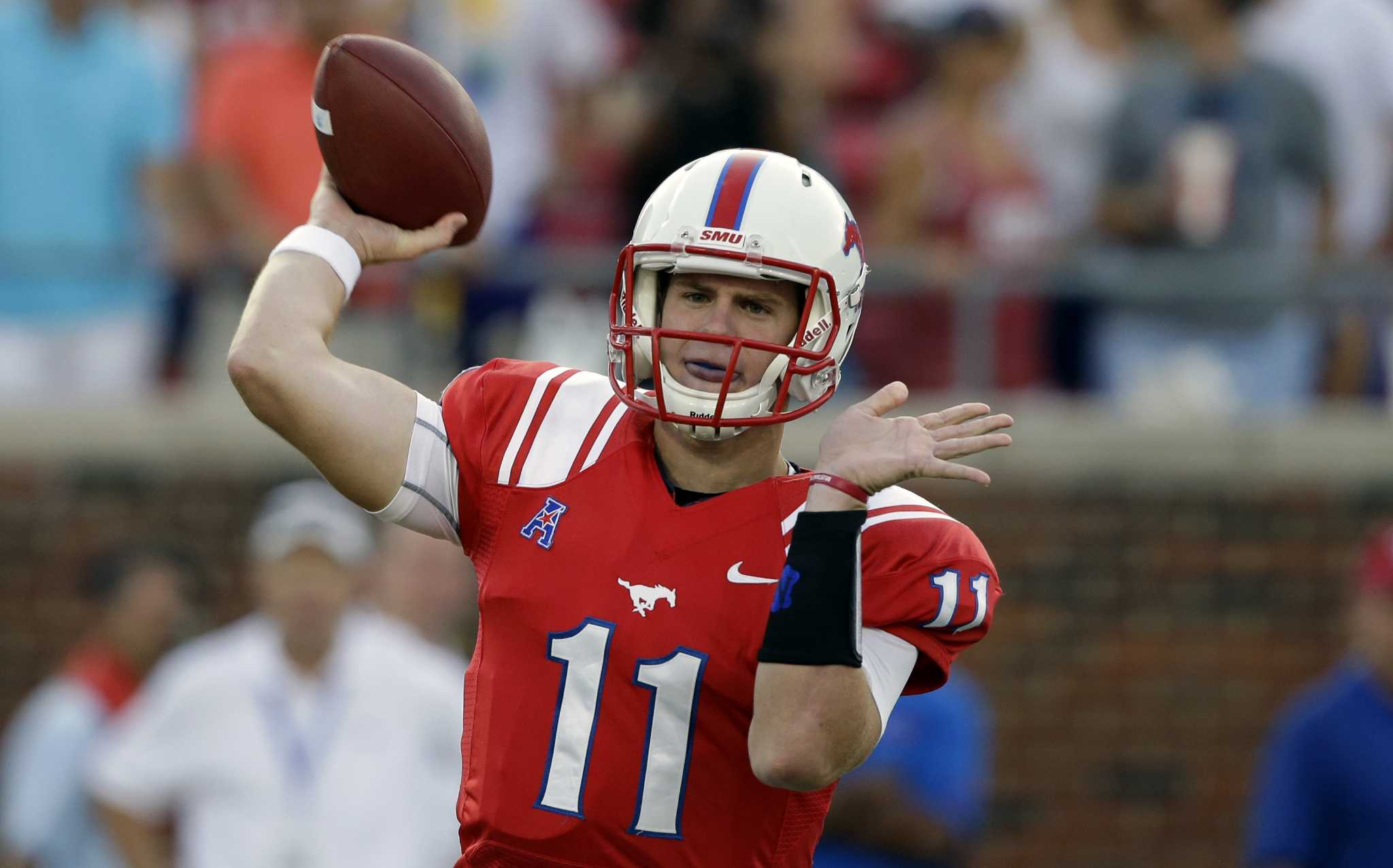 Garrett Gilbert Has Chance To Rise Again In Nfl Draft Houstonchronicle Com