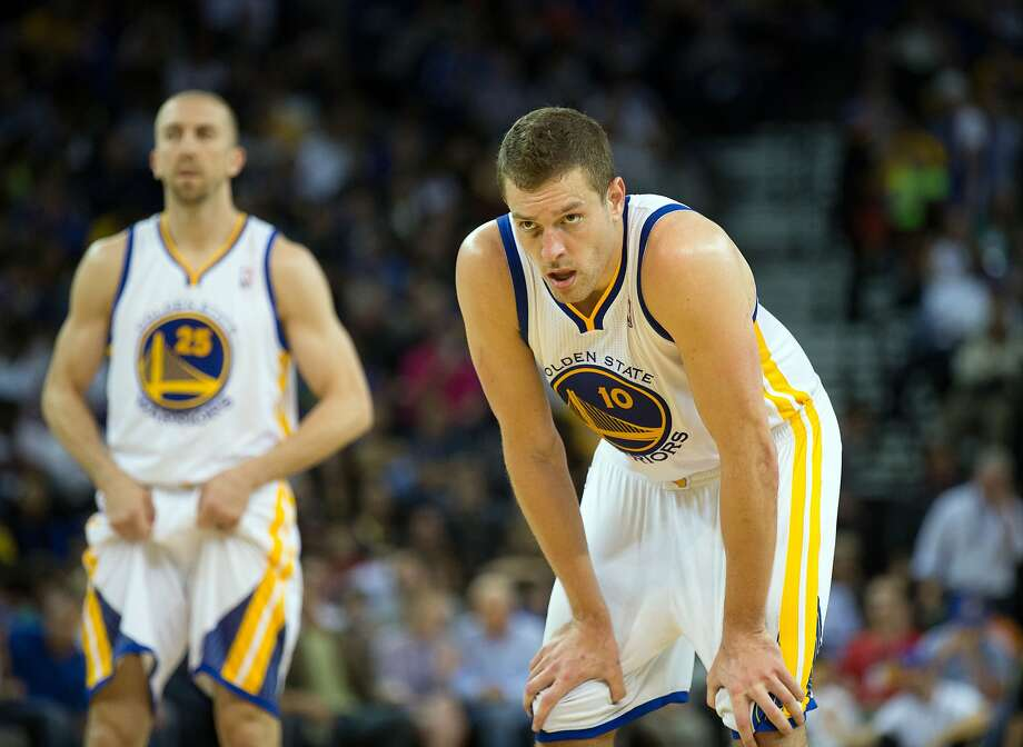 David Lee will miss his seventh straight game Thursday. Photo: Kelley L Cox, Reuters