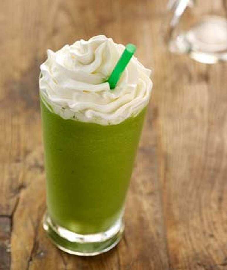 San Diego: Green tea frappuccino Photo: Starbucks