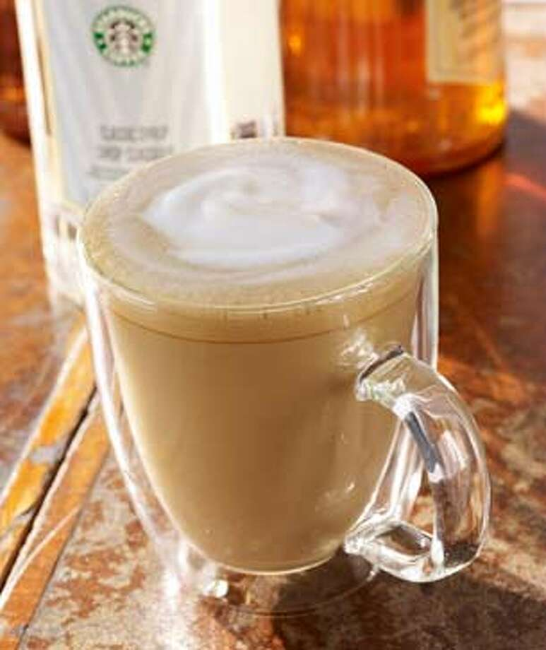 San Francisco:Soy latte Photo: Starbucks