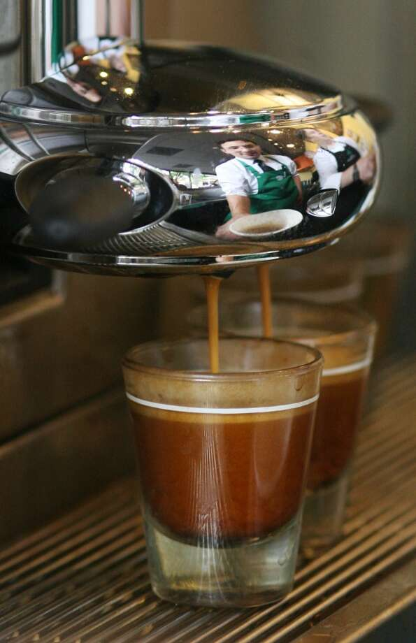 Seattle:We're simply more likely to inject an extra shot of espresso into our veins - er, drinks - than any other U.S. city Photo: Dan DeLong, Seattle Post-Intelligencer