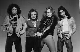 Van Halen:  The band made its mark as one of rock's great bands, thanks to frontman David Lee Roth's stage presence and Eddie Van Halen's guitar playing. But soon Roth became a solo star, Eddie had substance issues and fights over the band's creative direction were on the rise. Roth left the band after their 1984 tour. Roth and Van Halen would reunite again over the years, including an ill-advised reunion on the MTV VMAs in 1996 that reportedly had Eddie Van Halen and Roth threatening each other, and a permanent reunion in 2007.