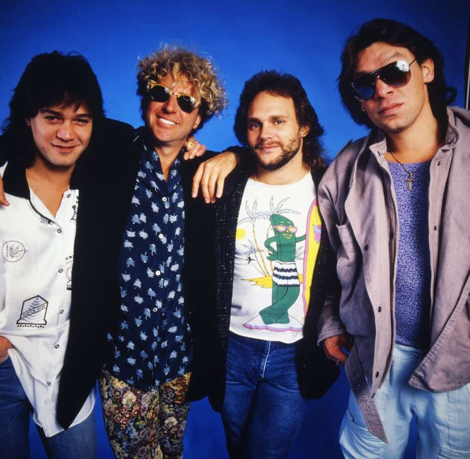 Here's a look at Van Halen (the man and the band) from back in the day. Photo: Ann Summa, Getty Images