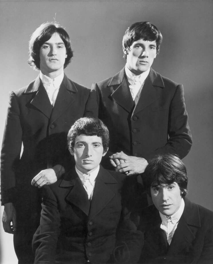 The Kinks: Ray and Dave Davies were one of the most influential rock bands of the '60s, but their relationship was a pretty bad case of sibling rivalry, full of violent arguments and cutting verbal altercations. (This is a great recap of their history from the Daily Mail in 2010.) That they performed together for over 30 years without killing each other is rather amazing. (Ray is on the bottom right; Dave is the top left.) Photo: Michael Ochs Archives, Getty Images