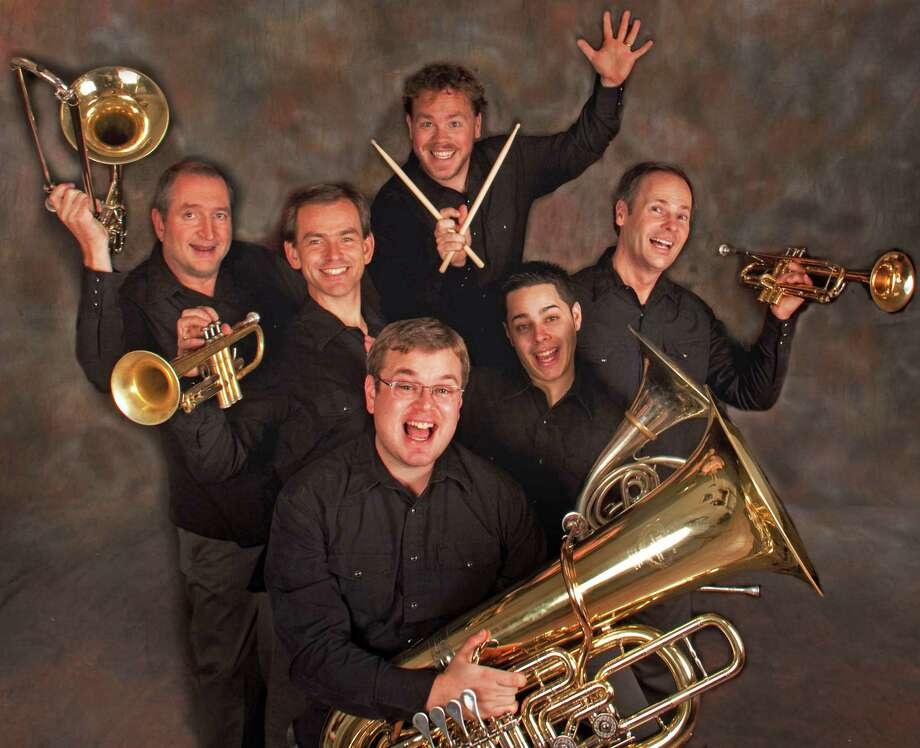 Dallas Brass will perform a free concert at Darien High School Thursday, April 24. Photo: Contributed Photo, Contributed / Darien News