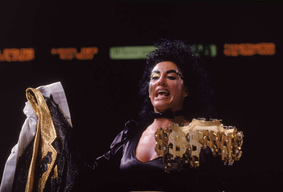 Sherri Martel, also known as Scary Sherri and Sensuous Sherri, died in June 2007 at the age of 49 of an apparent overdose. / 2004 John Giamundo/BBS