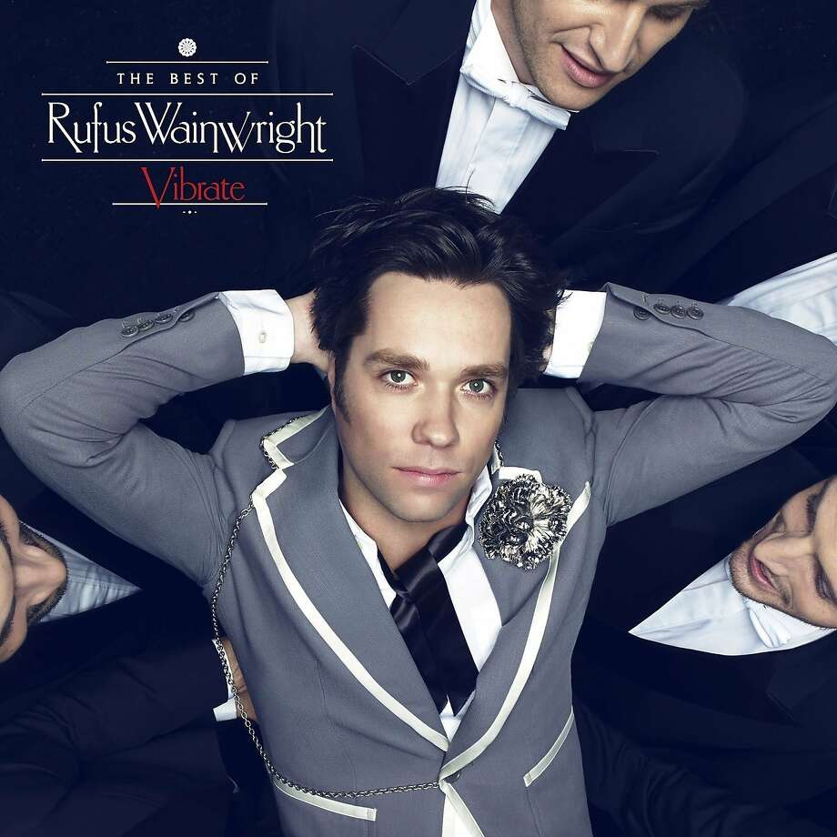 "cd cover: ""Vibrate: The Best of Rufus Wainwright"" Photo: Ume"