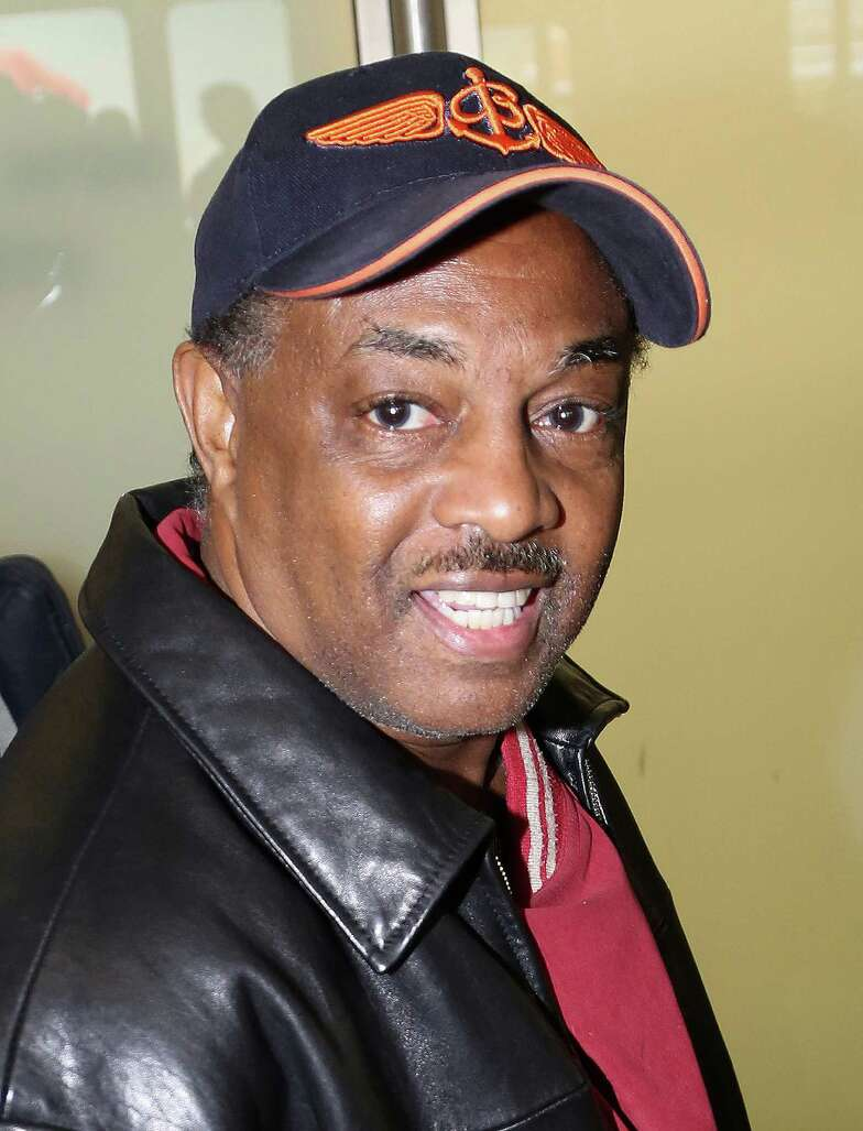 Singer Robert Bell from musical group 'Kool and the Gang' sighting at Tegel airport on January 31, 2014 in Berlin, Germany.