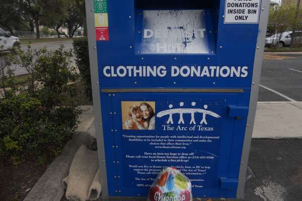 Clear out closet space *and* help those in need by donating clothes that you no longer wear to nonprofit organizations such as The Arc of Texas. Many of these organizations have drop-off bins around town to make donating easy.