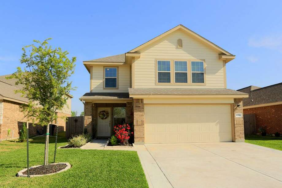 10911 Brittan Leaf: This 2012 home has 4 bedrooms, 2.5 bathrooms, 2,080 square feet, and is listed for $182,000. Photo: Houston Association Of Realtors