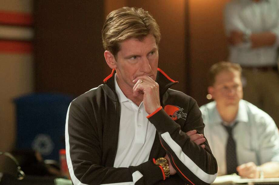 "This image released by Summit Entertainment shows Denis Leary in a scene from ""Draft Day."" (AP Photo/Summit Entertainment, Dale Robinette)  ORG XMIT: NYET627 Photo: Dale Robinette / Summit Entertainment"