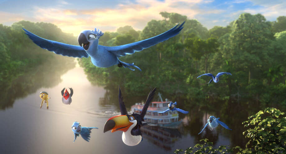 "This image released by 20th Century Fox shows a scene from the animated film ""Rio 2."" (AP Photo/20th Century Fox- Blue Sky Studios) ORG XMIT: NYET628 Photo: Blue Sky Studios / 20th Century Fox"