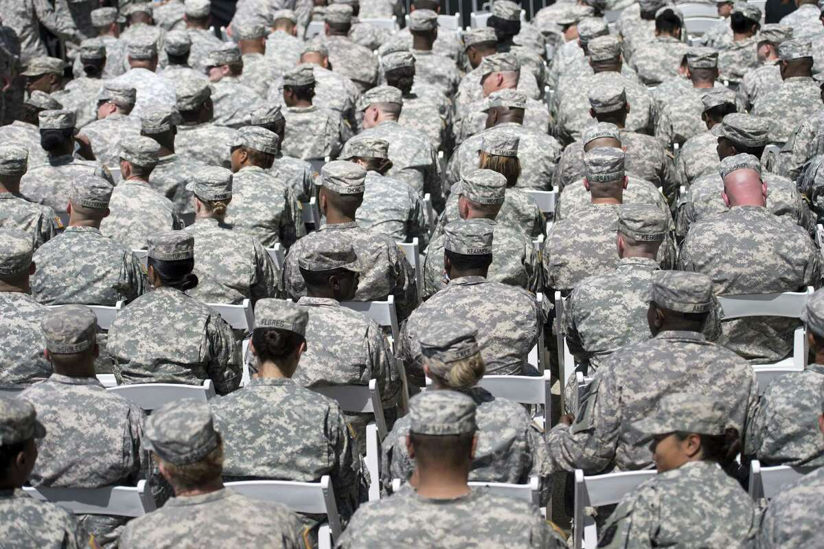 A 10-year study shows a sharp increase in chronic insomnia in the military, especially the Army.