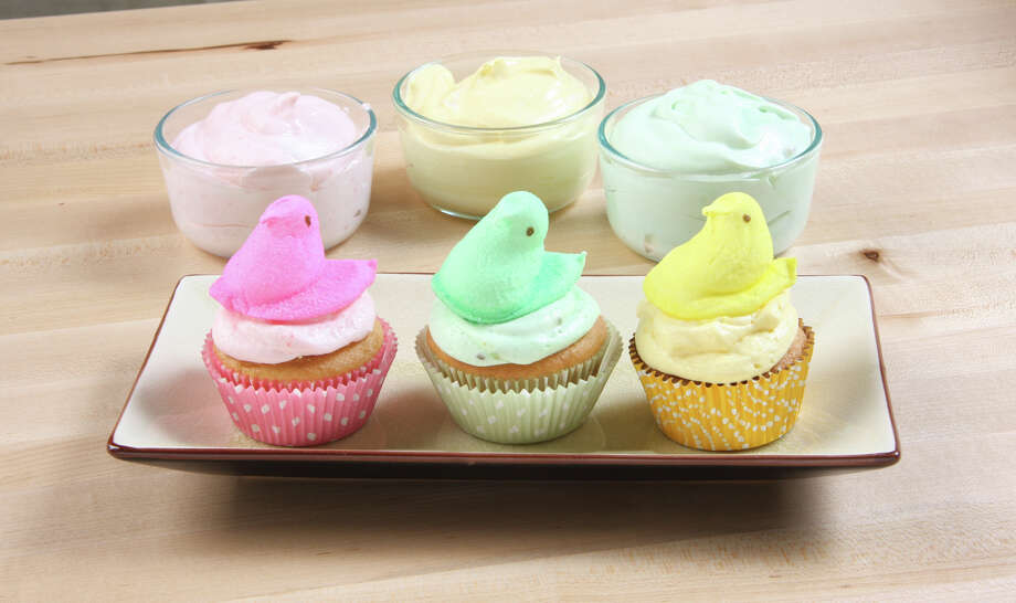 Jodie Fitz's Decorative Easter Cupcakes offer an adorable Easter treat with an alternative to traditional frosting. (Jodie Fitz)