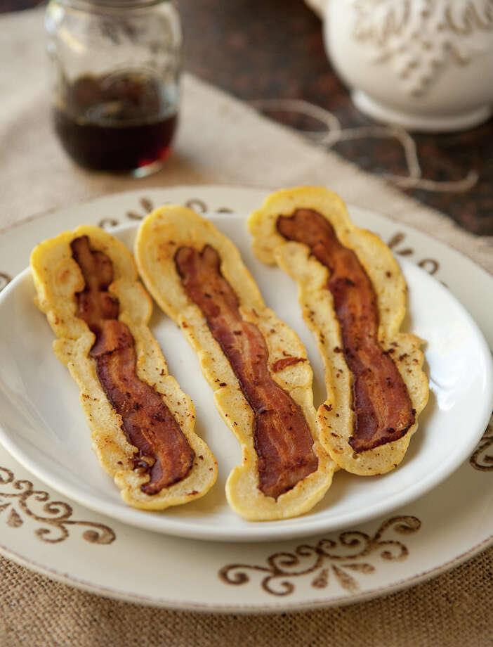 Bacon Strip Pancakes (Fotolia.)