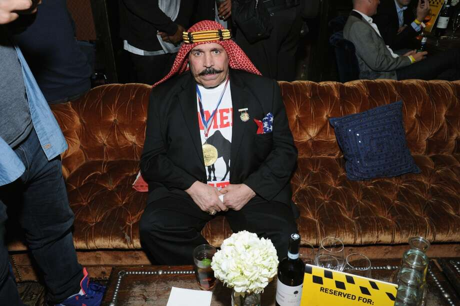 The Iron Sheik attends Hilarity for Charity NYC Cocktail Party at The Jane Hotel on April 8, 2014 in New York City. Photo: Ilya S. Savenok, Getty Images For Hilarity For Ch