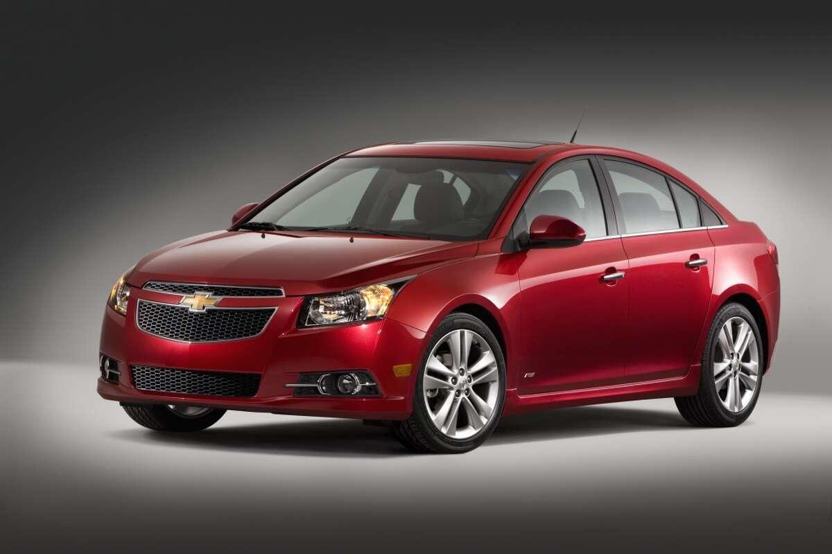 12. Chevrolet Cruze MSRP: Starting at $17,270 April 2014 sales: 21,752 vehicles Source: Autodata