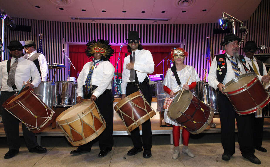 Urban-15's Fiesta Incognito Masked Ball on Saturday night will be at the Whitley Conference Center. Photo: Courtesy Photo / THE SAN ANTONIO EXPRESS-NEWS