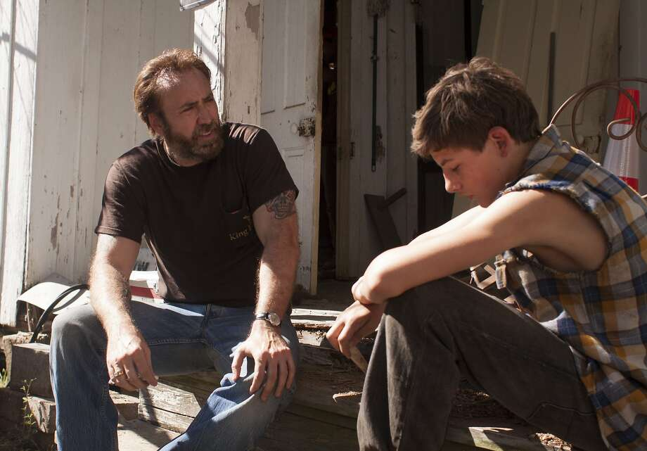 "Nicolas Cage is the title character in ""Joe,"" who turns into kind of a father figure for one of his workers (Tye Sheridan). Photo: Ryan Green, Roadside Attractions"