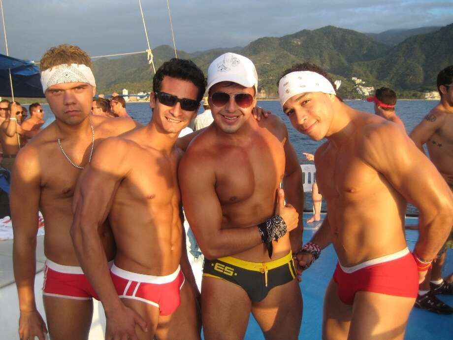 As Puerta Vallarta's popularity grows as a gay-friendly destination, the Pride celebration has also expanded. Photo taken during a Wet and Wild Gay Cruise. Click here to learn more.) Photo: Vallarta Pride