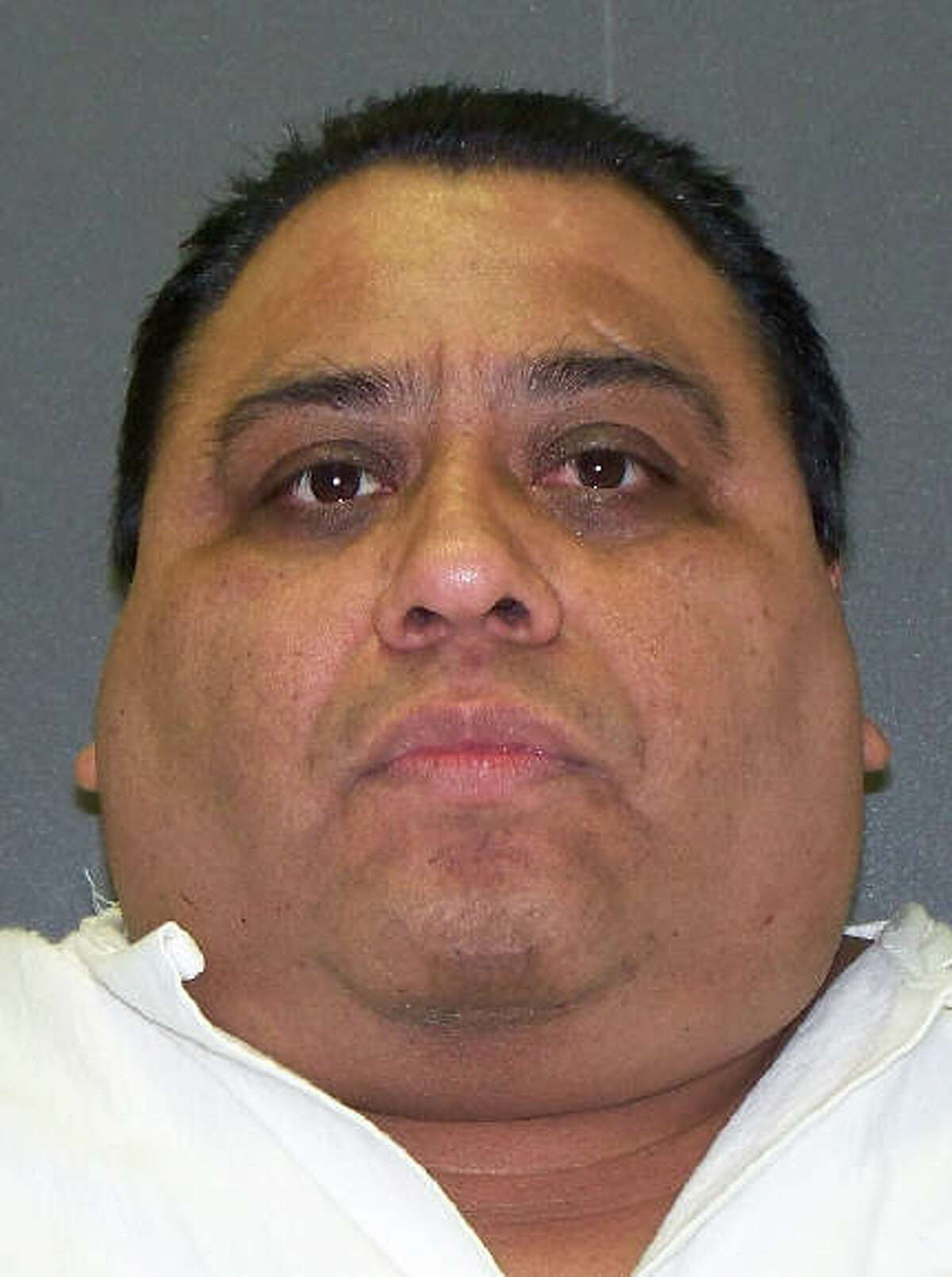 A file photo porvided by the Texas Department of Corrections is of Ramiro Hernandez-Llanas. who was scheduled to die Wednesday April 9, 2014, is shown in this file image provided by the Texas Department of Criminal Justice. Hernandez- Llanas, who escaped prison in his native Mexico while serving a murder sentence was headed to the Texas death chamber Wednesday for the fatal beating a former Baylor University history professor and attack on his wife more than 16 years ago. (AP Photo/Texas Department of Criminal Justice, File)