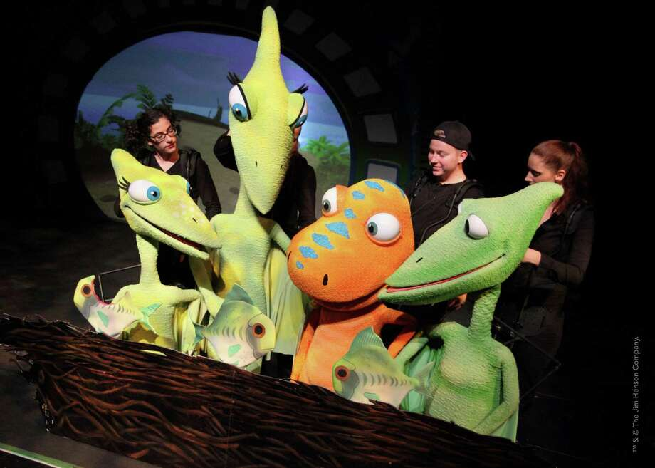 """Dinosaur Train Live!"" will be presented at the Tobin Center for the Performing Arts on Jan. 18. Photo: Courtesy Photo"
