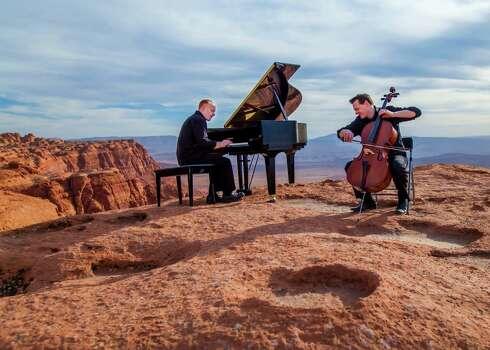 The Piano Guys will perform at the Tobin Center for the Performing Arts on Sept. 23. Photo: Courtesy Photo / MUSIC0919PianoGuys