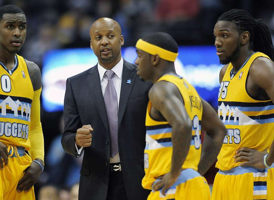 Brian Shaw has received some encouragement from Jason Kidd. Photo: Chris Schneider, Associated Press