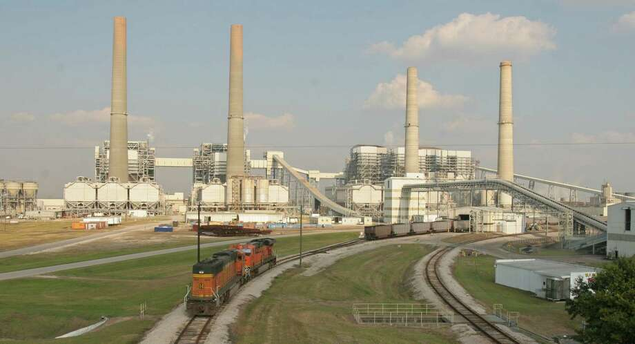 (For the Chronicle/Gary Fountain, November 2, 2007) The W.A. Parish Power Plant in Fort Bend County, owned and operated by NRG Energy, is planning a project to capture about 1 million tons of C02 from its smoke stack per year. This would be the largest cabon capture project in the world when it gets off the ground in 2012. The plant is among the largest in the nation. Photo: Gary Fountain, Freelance / Freelance