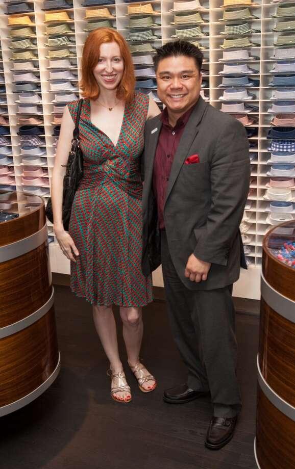 Charlotte Cameron and Dennis I. Punzalan Photo: Chris Brown
