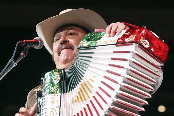 Ramon Ayala - Tejano Explosion, 9 p.m. and midnight shows, Friday, April 11, Cattleman's Square - Grammy-winning Norteno accordionist's legend dates to the 1960s with Cornelio Reyna y Los Relampagos Del Norte. (File photo)