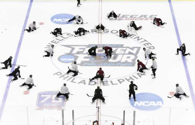 NCAA: Frozen Four - It's All Business For Union