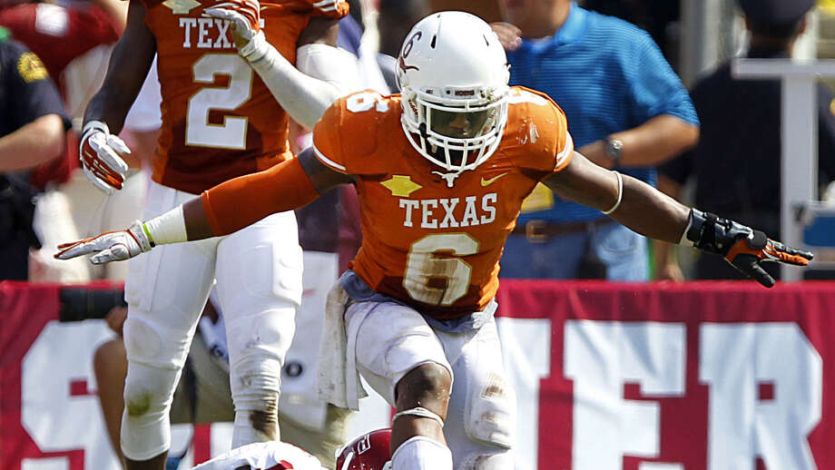 "Senior defensive back Quandre Diggs said the Longhorns' new coaches ""don't care about what you've done in the past."" Photo: Tom Fox / Associated Press / The Dallas Morning News"