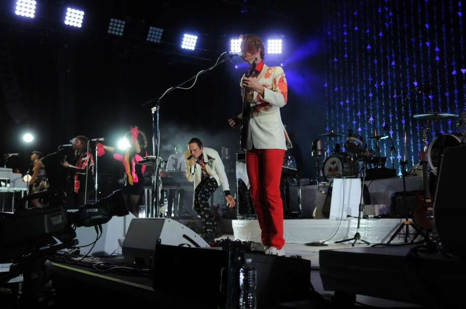 Arcade Fire performs. Photo: Jerry Baker, For The Chronicle
