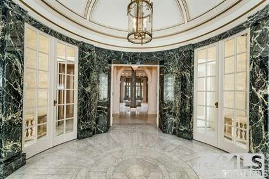 A marble conservatory Photo: MLS