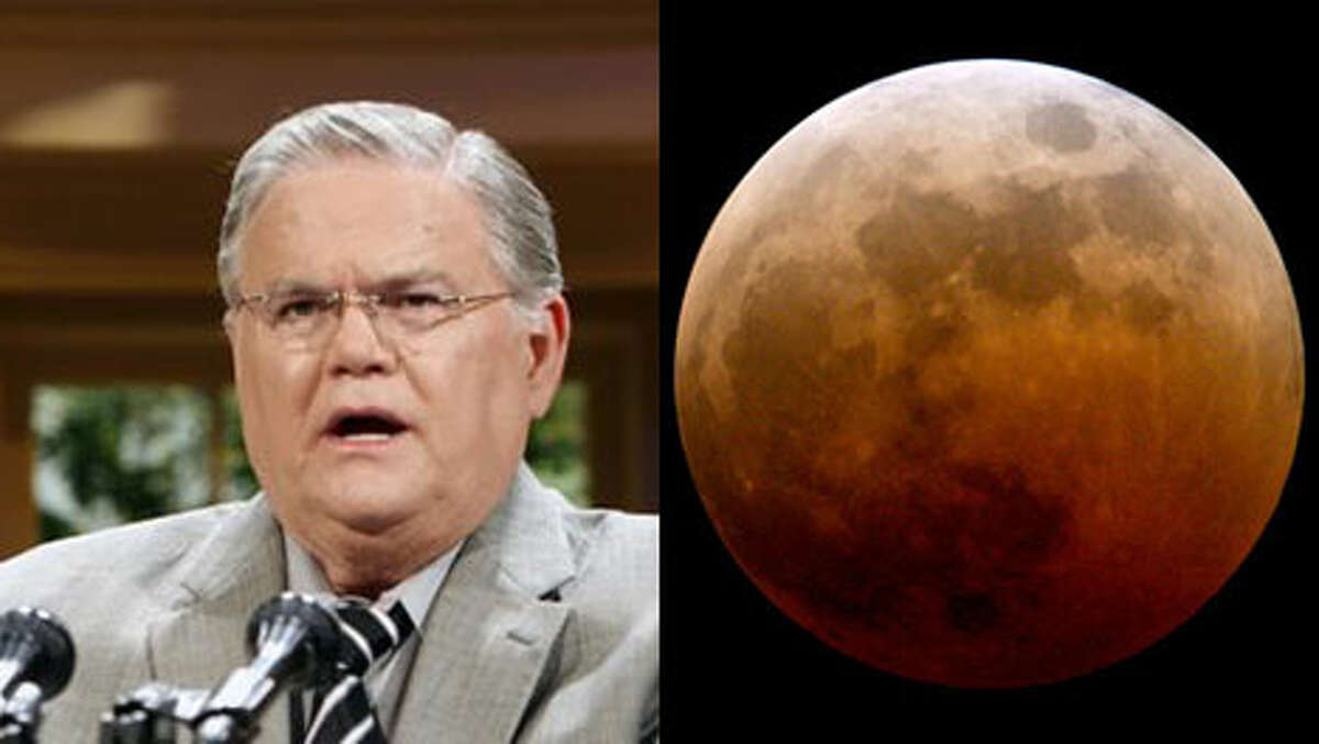 Padtor John Hagee, who also is pushing sales of his book, predicts that a