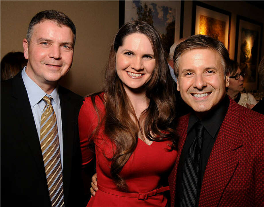 Don Geraci, from left, Laura Lucas and Ernie Menouse Photo: Dave Rossman, For The Chronicle