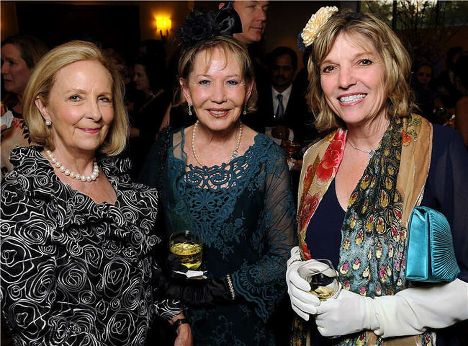 Bridget Burkhart, from left, Mary Faye Way and Jo Oberman Photo: Dave Rossman, For The Chronicle