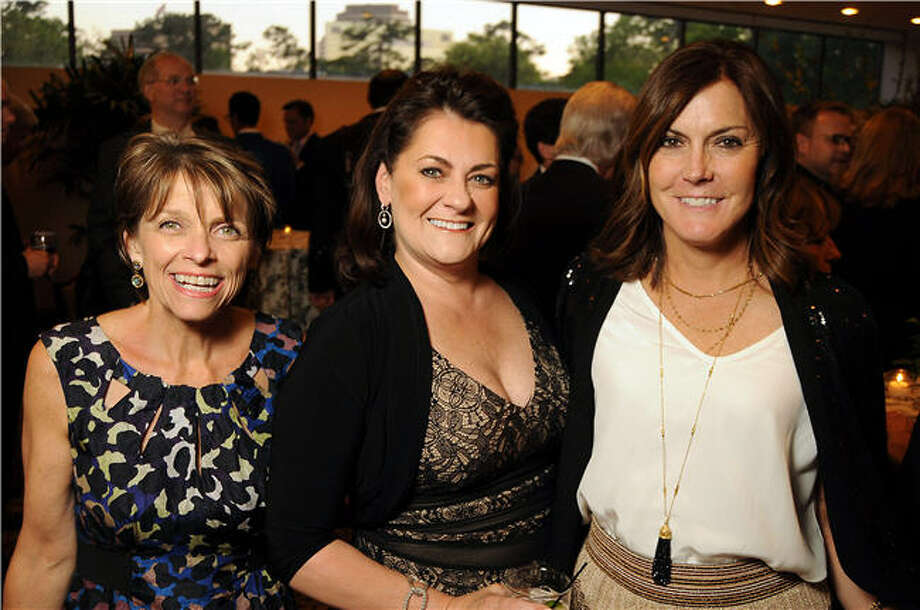 Kathryn McNiel, from left, Laurel Thompson and Lisa Currie Photo: Dave Rossman, For The Chronicle