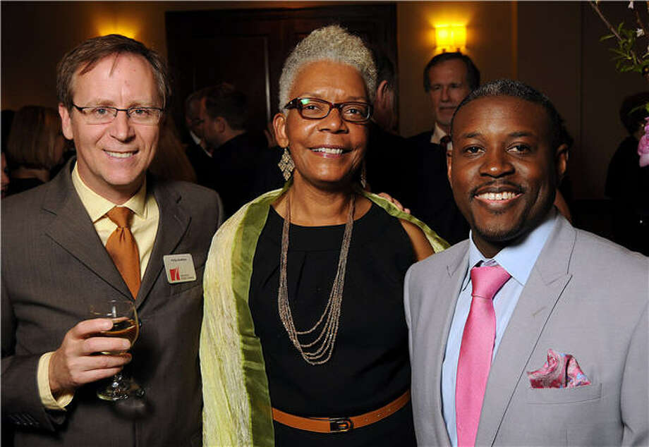 Phillip McMillan, left,  Debra Garner and Larry Payton Photo: Dave Rossman, For The Chronicle