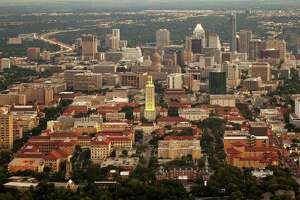 The University of Texas campus and downtown Austin  on Thursday October 3, 2013.  JAY JANNER / AMERICAN-STATESMAN
