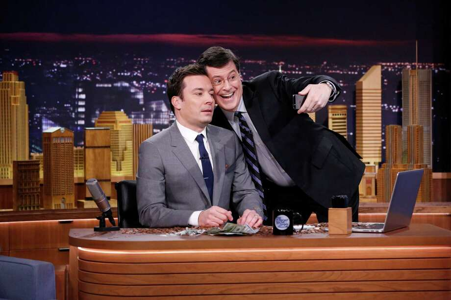 """In April 2014, CBS announced Stephen Colbert would be replacing David Letterman as host of the """"Late Show"""" sometime in 2015.Not only are audiences losing Letterman, but they'll also be losing Colbert's popular """"Colbert Report"""" persona. Here are some things you should know about Colbert before he makes his big move. Photo: NBC, NBC/NBCU Photo Bank / 2014 NBCUniversal Media, LLC"""