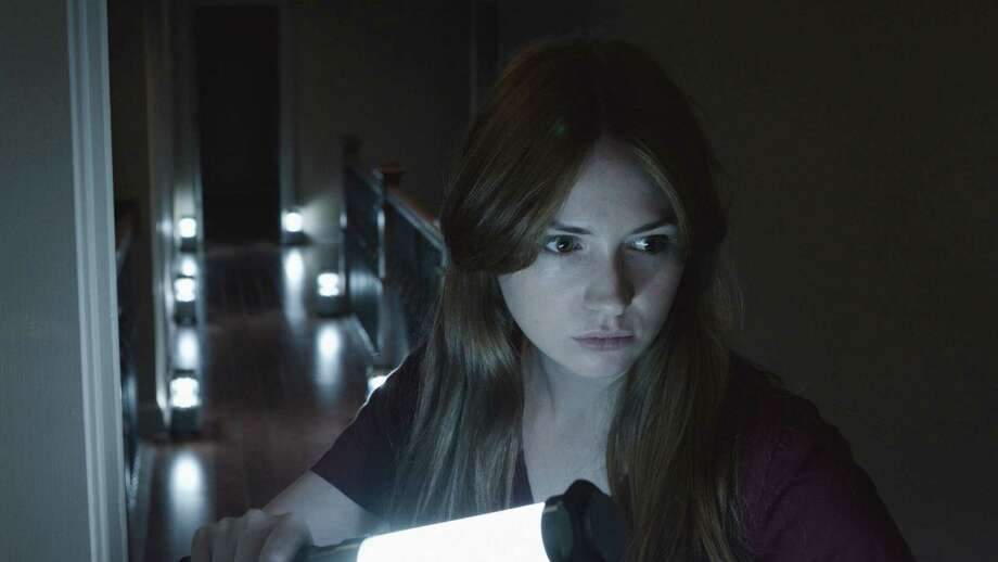 Karen Gillian stars in Relativity Media s OCULUS. Photo: John Estes /  © 2013 Lasser Productions, LLC. All Rights Reserved.