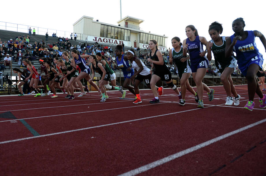 The District 20-4A Varsity Track Meet finals were held Wednesday afternoon at Babe Zaharias Stadium.