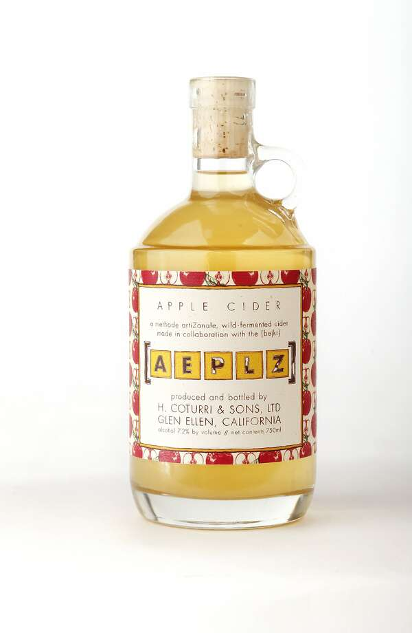 Aeplz Apple Cider as seen in San Francisco, California on Wednesday April 2, 2014. Photo: Craig Lee, Special To The Chronicle