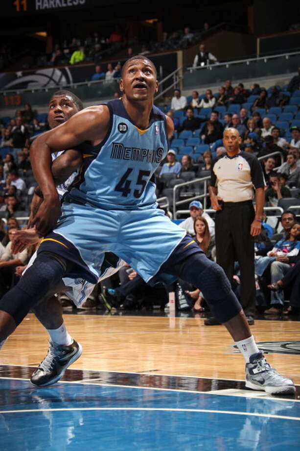 Pittman played in seven games with the Memphis Grizzlies during the 2012-13 season. Photo: Joe Murphy, NBAE/Getty Images / 2013 NBAE