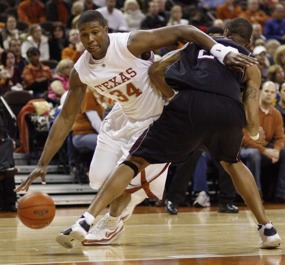 Pittman played four seasons at Texas (2006-2010). Photo: Associated Press